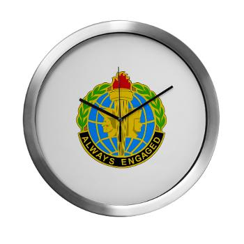 MIRC - M01 - 03 - DUI - Military Intelligence Readiness Command - Modern Wall Clock