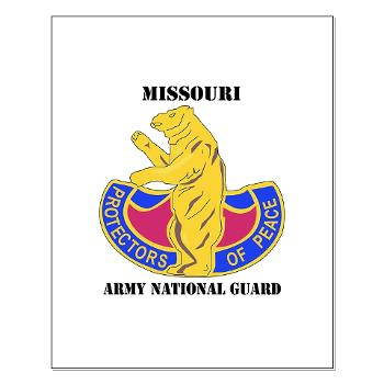 MOARNG - M01 - 02 - DUI - MISSOURI ARMY NATIONAL GUARD WITH TEXT - Small Poster