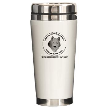 MRB - M01 - 03 - DUI - Milwaukee Recruiting Bn - Ceramic Travel Mug