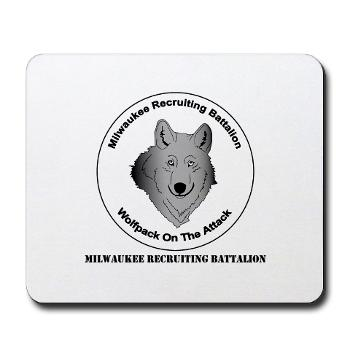 MRB - M01 - 03 - DUI - Milwaukee Recruiting Bn - Mousepad