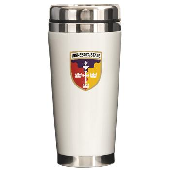 MSU - M01 - 03 - SSI - ROTC - Minnesota State University - Ceramic Travel Mug