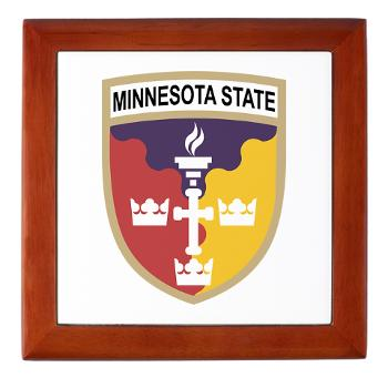 MSU - M01 - 03 - SSI - ROTC - Minnesota State University - Keepsake Box