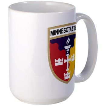 MSU - M01 - 03 - SSI - ROTC - Minnesota State University - Large Mug