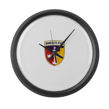 MSU - M01 - 03 - SSI - ROTC - Minnesota State University - Large Wall Clock