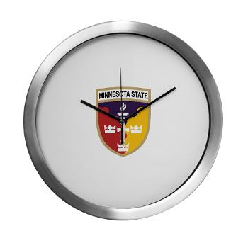 MSU - M01 - 03 - SSI - ROTC - Minnesota State University - Modern Wall Clock