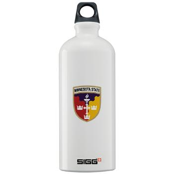 MSU - M01 - 03 - SSI - ROTC - Minnesota State University - Sigg Water Bottle 1.0L