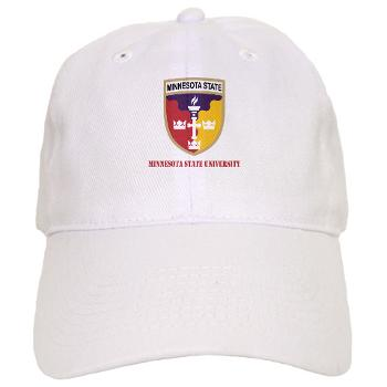 MSU - A01 - 01 - SSI - ROTC - Minnesota State University with Text - Cap