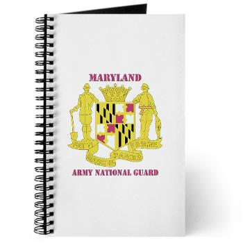 MarylandARNG - M01 - 02 - DUI - Maryland Army National Guard with Text - Journal