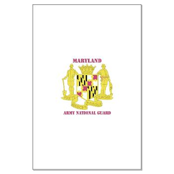 MarylandARNG - M01 - 02 - DUI - Maryland Army National Guard with Text - Large Poster