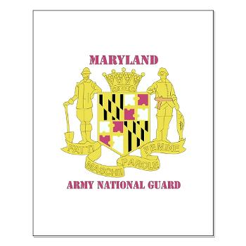 MarylandARNG - M01 - 02 - DUI - Maryland Army National Guard with Text - Small Poster