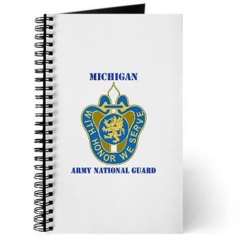 MichiganARNG - M01 - 02 - DUI - Michigan Army National Guard with Text Journal