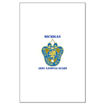 MichiganARNG - M01 - 02 - DUI - Michigan Army National Guard with Text Large Poster