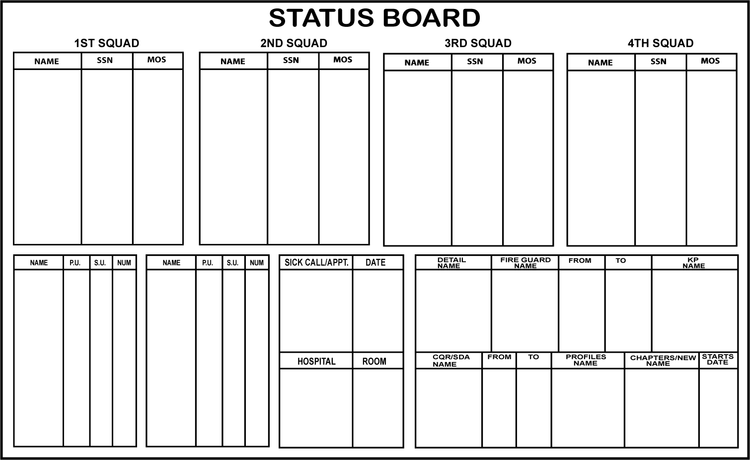 mc 0000 0000 00015 company status board mc 16 129 00 army