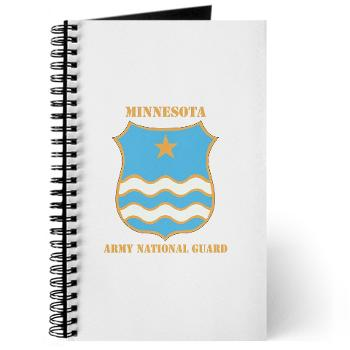 MinnesotaARNG - M01 - 02 - DUI - Minnesota Army National Guard with Text Journal
