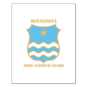 MinnesotaARNG - M01 - 02 - DUI - Minnesota Army National Guard with Text Small Poster