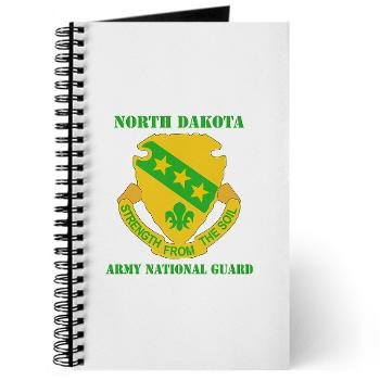 NDARNG - M01 - 02 - DUI - North Dakota Nationl Guard With Text - Journal