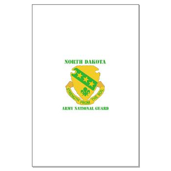 NDARNG - M01 - 02 - DUI - North Dakota Nationl Guard With Text - Large Poster