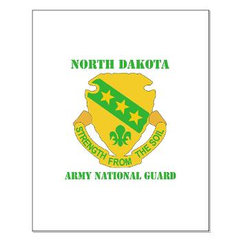 NDARNG - M01 - 02 - DU I- Colorado Army National Guard With Texrt - Small Framed Print