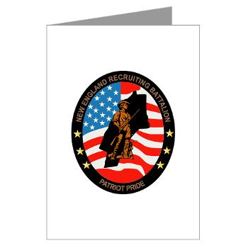 NERB - M01 - 02 - DUI - New England Recruiting Battalion - Greeting Cards (Pk of 20)