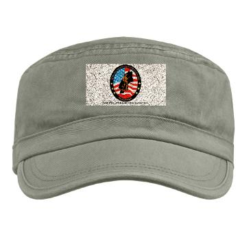 NERB - A01 - 01 - DUI - New England Recruiting Battalion with Text - Military Cap