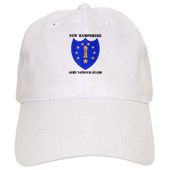 NHARNG - A01 - 01 - DUI - NEW HAMPSHIRE ARMY NATIONAL GUARD WITH TEXT - Cap