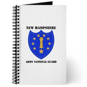 NHARNG - M01 - 02 - DUI - NEW HAMPSHIRE ARMY NATIONAL GUARD WITH TEXT - Journal