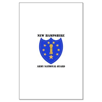 NHARNG - M01 - 02 - DUI - NEW HAMPSHIRE ARMY NATIONAL GUARD WITH TEXT - Large Poster