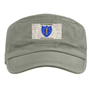 NHARNG - A01 - 01 - DUI - NEW HAMPSHIRE ARMY NATIONAL GUARD WITH TEXT - Military Cap