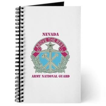 NVARNG - M01 - 02 - DUI - Nevada Army National Guard with Text Journal
