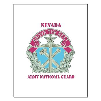 NVARNG - M01 - 02 - DUI - Nevada Army National Guard with Text Small Poster