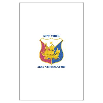 NYARNG - M01 - 02 - DUI - New York Army National Guard With Text - Large Poster