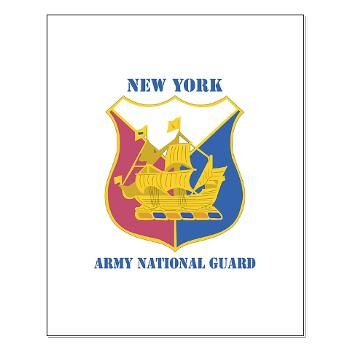 NYARNG - M01 - 02 - DUI - New York Army National Guard With Text - Small Poster