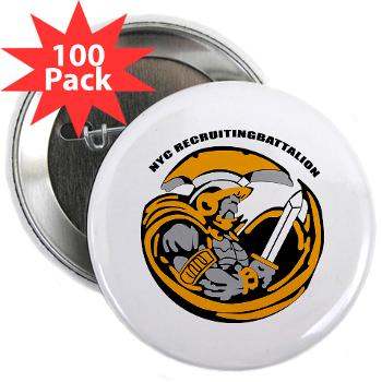 "NYCRB - M01 - 01 - DUI - New York City Recruiting Battalion 2.25"" Button (100 pack)"