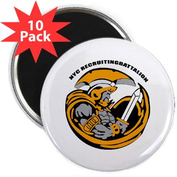"NYCRB - M01 - 01 - DUI - New York City Recruiting Battalion 2.25"" Magnet (10 pack)"