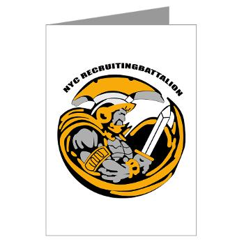 NYCRB - M01 - 02 - DUI - New York City Recruiting Battalion Greeting Cards (Pk of 10)