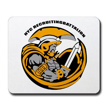NYCRB - M01 - 03 - DUI - New York City Recruiting Battalion Mousepad