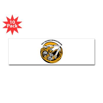 NYCRB - M01 - 01 - DUI - New York City Recruiting Battalion Sticker (Bumper 10 pk)