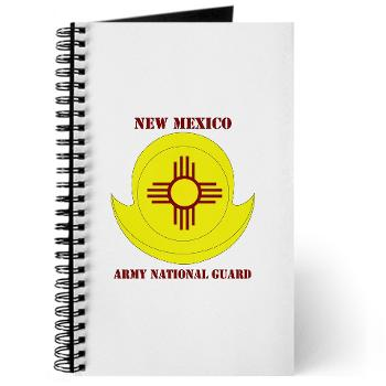 NewMexicoARNG - M01 - 02 - DUI - New Mexico Army National Guard with text Journal