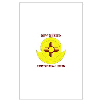 NewMexicoARNG - M01 - 02 - DUI - New Mexico Army National Guard with text Large Poster