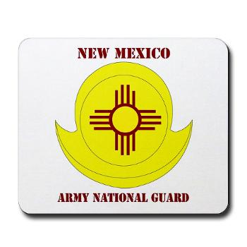 NewMexicoARNG - M01 - 03 - DUI - New Mexico Army National Guard with text Mousepad