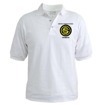 OCSS - A01 - 04 - DUI - Officer Candidate School - Students with Text Golf Shirt