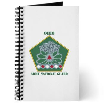 OHARNG - M01 - 02 - DUI - Ohio Army National Guard with text Journal