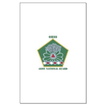 OHARNG - M01 - 02 - DUI - Ohio Army National Guard with text Large Poster