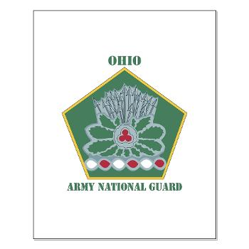 OHARNG - M01 - 02 - DUI - Ohio Army National Guard with text Small Poster