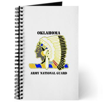 OKLAHOMAARNG - M01 - 02 - DUI - Oklahoma Army National Guard with text - Journal