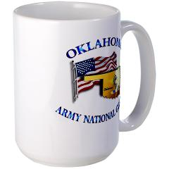 OKLAHOMAARNG - M01 - 03 - Oklahoma Army National Guard - Large Mug