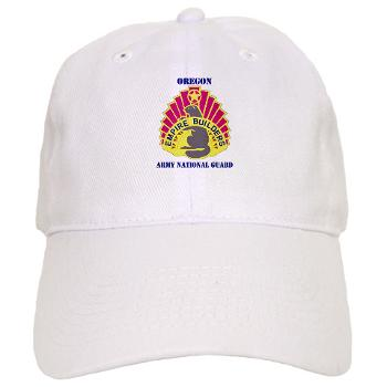 OREGONARNG - A01 - 01 - DUI - Oregon Army National Guard With Text - Cap
