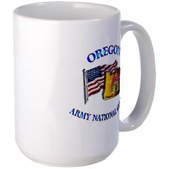 OREGONARNG - M01 - 03 - Oregon Army National Guard Large Mug