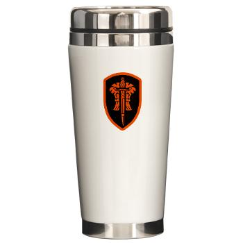OSU - M01 - 03 - SSI - ROTC - Oregon State University - Ceramic Travel Mug