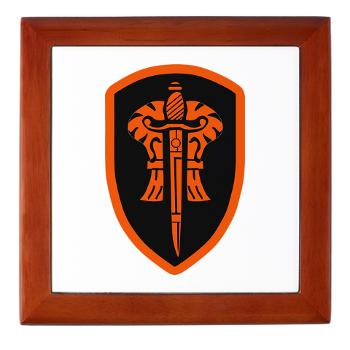 OSU - M01 - 03 - SSI - ROTC - Oregon State University - Keepsake Box
